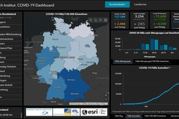 Covid19-Dashboard des Robert Koch Instituts (RKI)