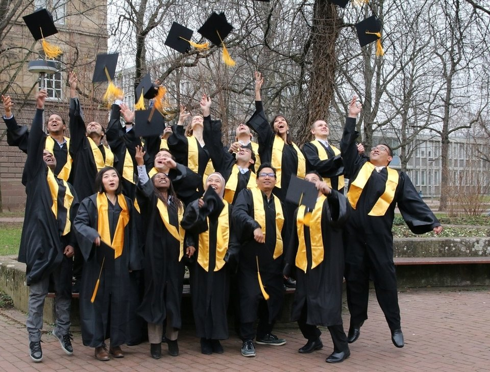 Graduates of Master Photogrammetry and Geoinformatics